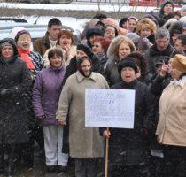Acțiune de protest în fața Ministerului Sănătății