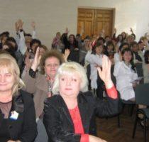 """Conferința de dare de seamă și alegeri – CNMF """"Raisa Pacalo"""""""