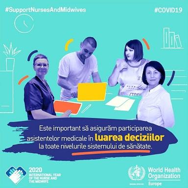 12 mai – marcăm Ziua Internaţională a asistenţilor medicali