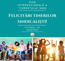 Astăzi serbăm Ziua internațională a tineretului
