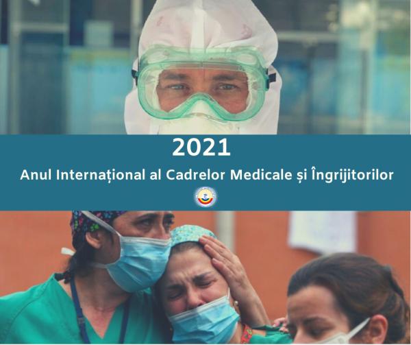 2021 declarat Anul Internațional al Cadrelor Medicale și Îngrijitorilor
