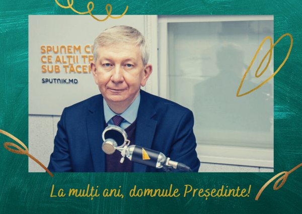La mulți ani, domnule Președinte!