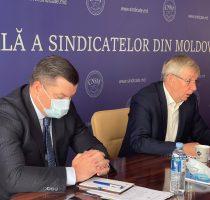 """Ședința Biroului Executiv al Federației Sindicale """"Sănătatea"""" din Moldova"""
